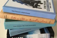 En stak bøger