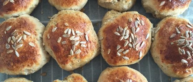 opskrift brød med creme fraiche