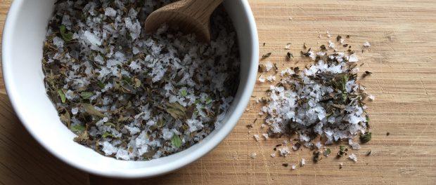 Kryddersalt med timian og persille